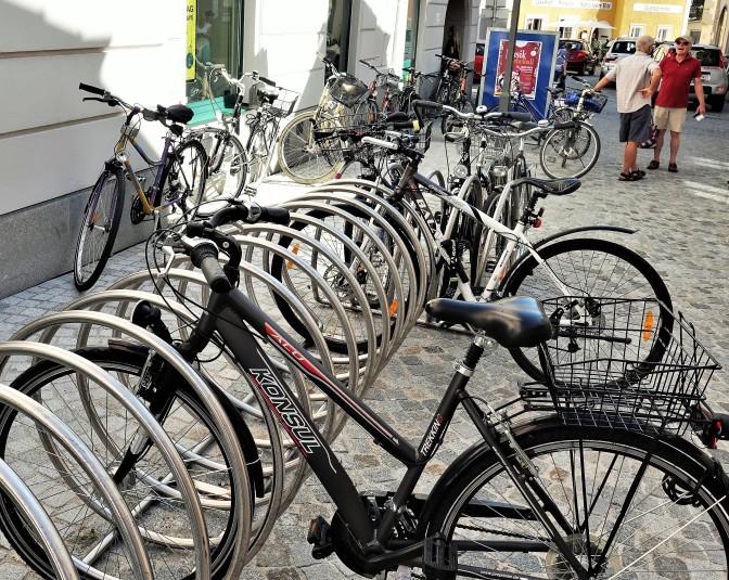 Hoher Markt Radständer 2019