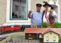 Karl Piaty Herbert Marko Bahnhof Ybbsitz