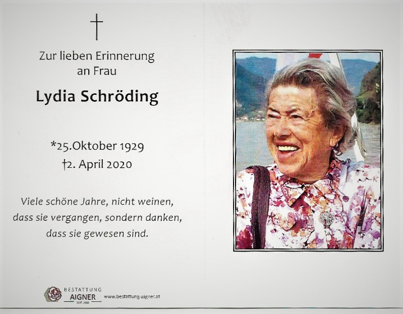Lydia Schröding Andenkenbild