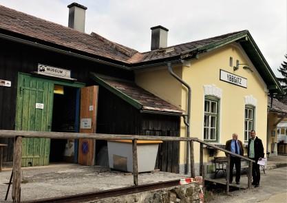 Marko Gansterer Bahnhof Ybbsitz 1. Oktt. 20´17