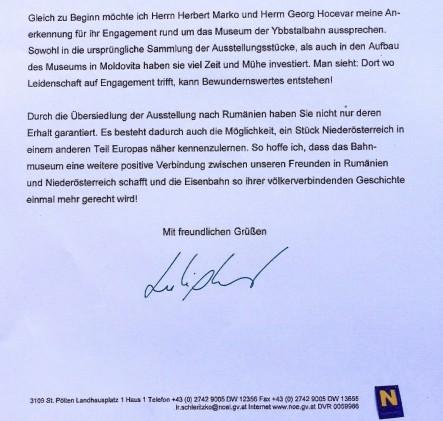 Schleritzko Schreiben Ausschnitt Marko