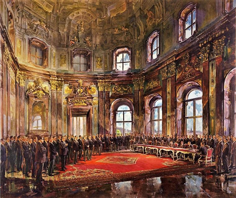 Staatsvertragsbild Robert Fuchs
