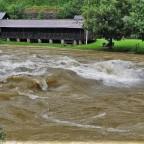 Erstes Hochwasser 2020