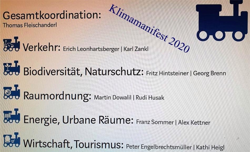 Klimamanifest 2020 Dampflokführer