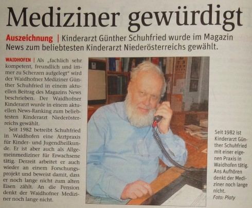 NÖN 10.2.2015 Schuhfried NEWS (2)