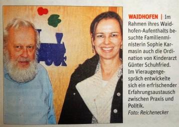 Schuhfried und Karmasin NÖN Ybbstal 24.2.2015 (2)