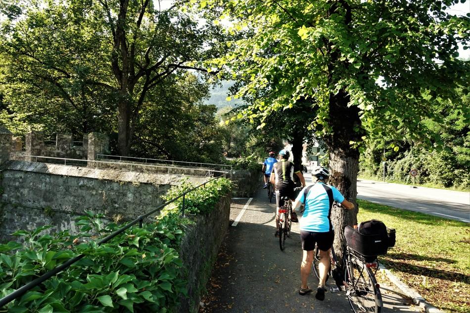 Radfahrer Schloßgasserl (2)