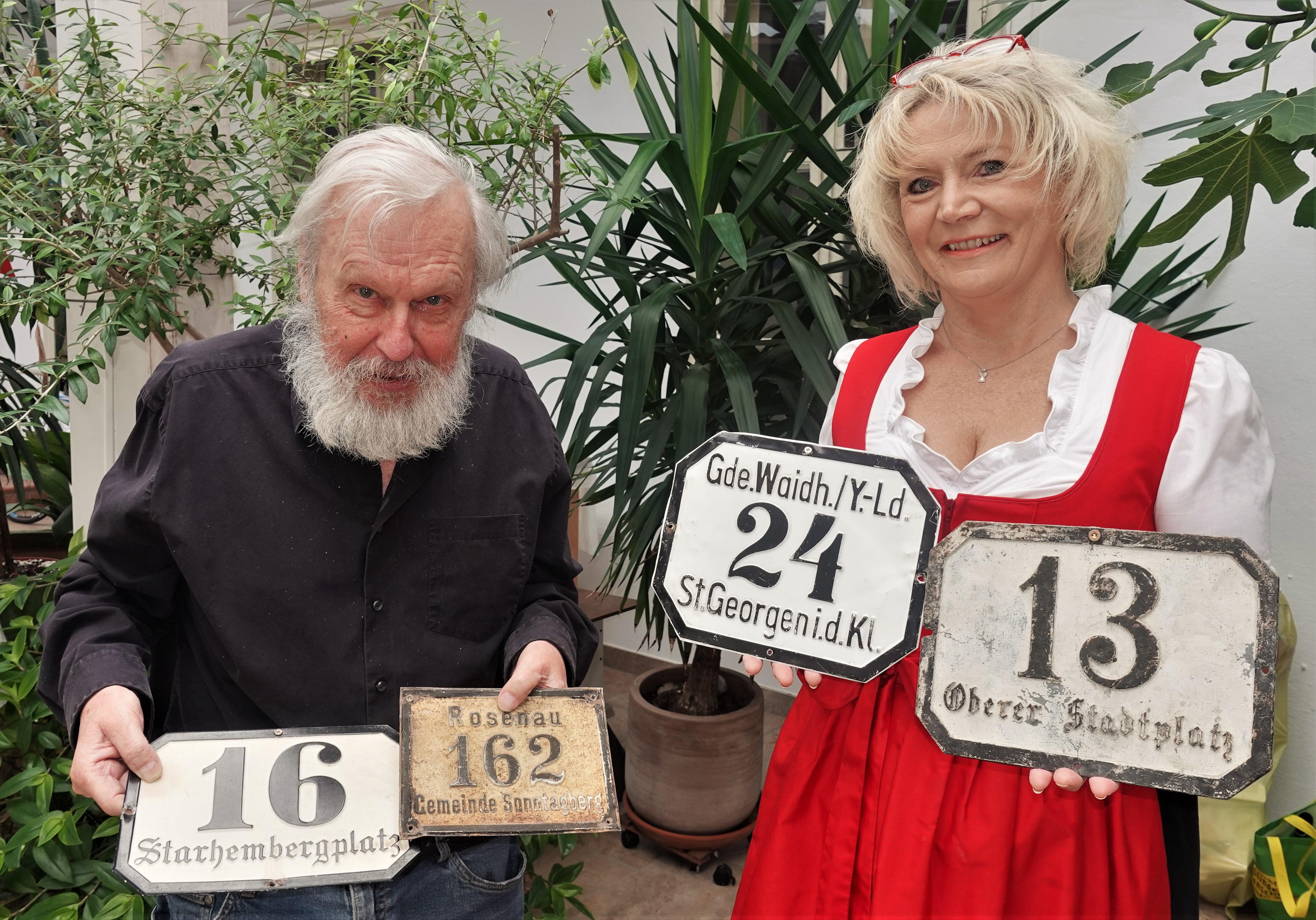 Dr. Günter Schuhfried und Renate Wachauer